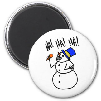 Snowman Cannibal Magnets