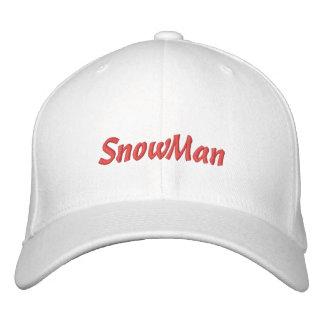 Snowman Cap / Hat Baseball Cap