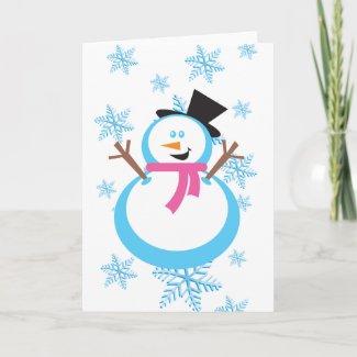 Snowman Cardsd