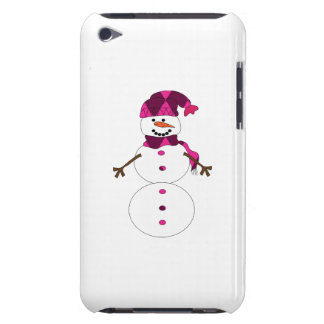 Snowman cartoon barely there iPod cover