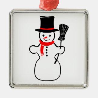 Snowman cartoon ornaments