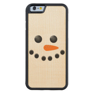 Snowman Carved® Maple iPhone 6 Bumper