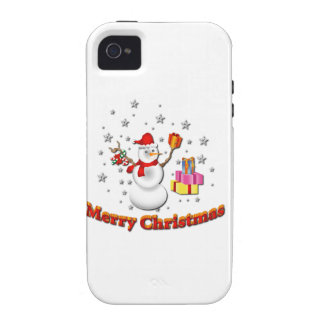 Snowman iPhone 4/4S Covers