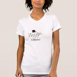 Snowman, Cheers! T-Shirt