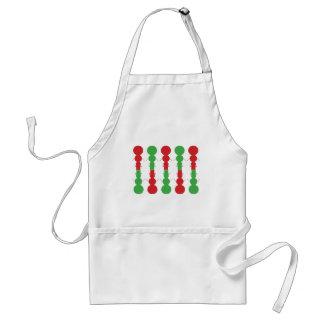 snowman christmas adult apron