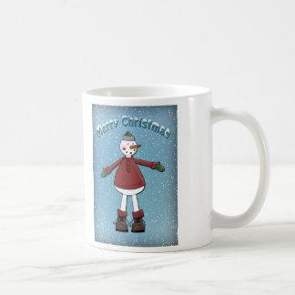 Snowman - Christmas Design Coffee Mug