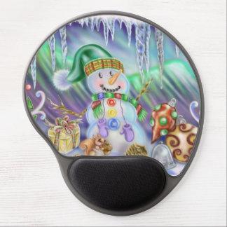 Snowman Christmas Gel Mouse Pad