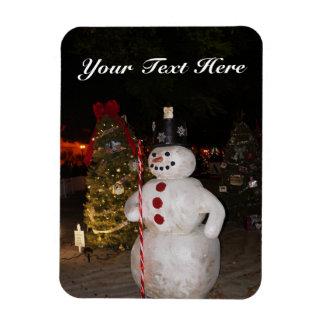 Snowman & Christmas Tree Magnet