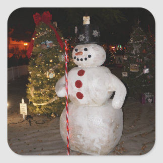 Snowman & Christmas Tree Stickers