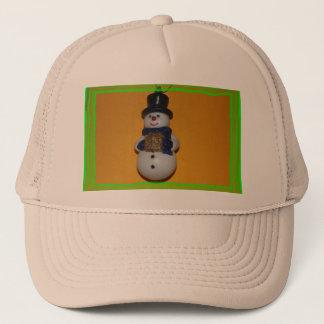Snowman Christmas Trucker Hat