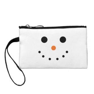 Snowman Cosmetic Bag
