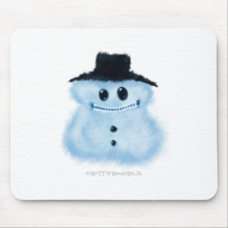 Snowman Critter Mouse Pad