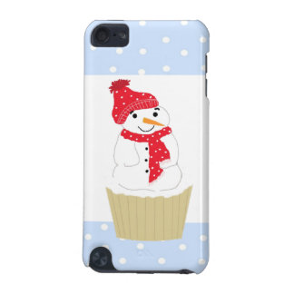 Snowman Cupcake in Red iPod Touch 5G Case