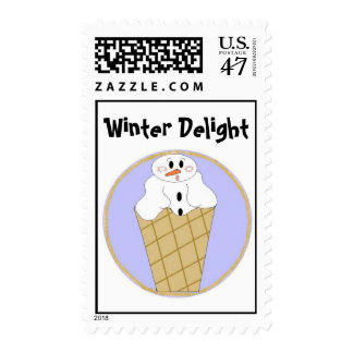 Snowman Delight Stamp