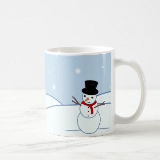 Snowman Design Coffee Mug