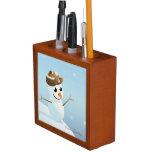 Snowman Desk Organizer