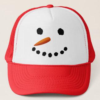 Snowman Face Christmas Hat