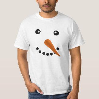 Snowman Face Tees