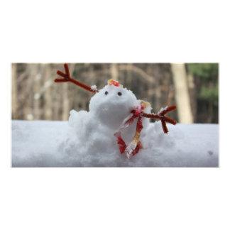 Snowman Fail Photo Card