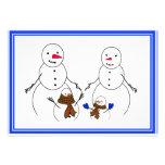 Snowman Family Announcements