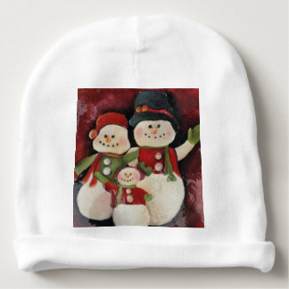 Snowman Family - Baby's Infant Hat