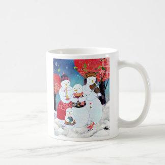 Snowman Family: Christmas Mug