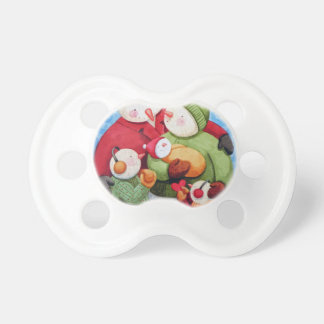 Snowman Family Pacifier