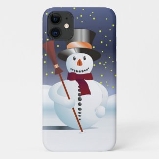 Snowman for Xmas iPhone 11 Case