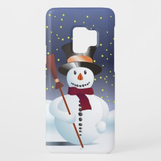 Snowman for Xmas Case-Mate Samsung Galaxy S9 Case