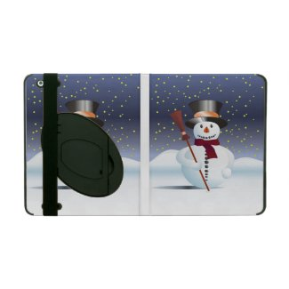 Snowman for Xmas iPad Case