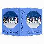 Snowman Fun Binders