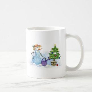 Snowman-gardener Coffee Mug