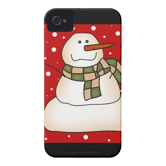 Snowman Gifts iPhone 4 Case-Mate Case