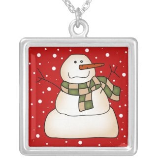 Snowman Gifts Necklaces