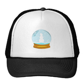 Snowman Globe Trucker Hat