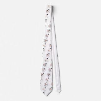 Snowman Globe Neck Tie