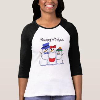 Snowman Happy Winter Shirts