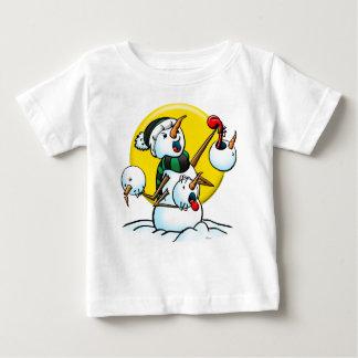 snowman heads copy t-shirt