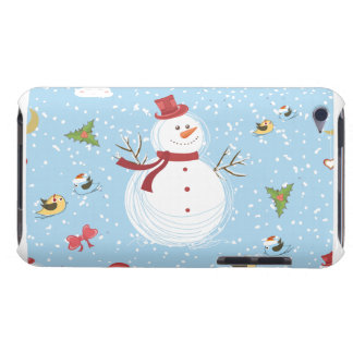 Snowman Holiday iPod Touch Cover