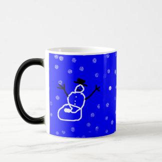 Snowman Holiday Christmas Mug Customizable