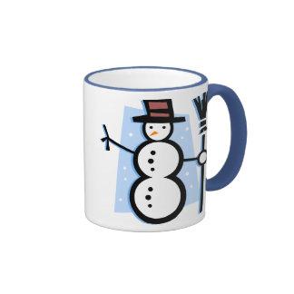 Snowman Holiday Mug