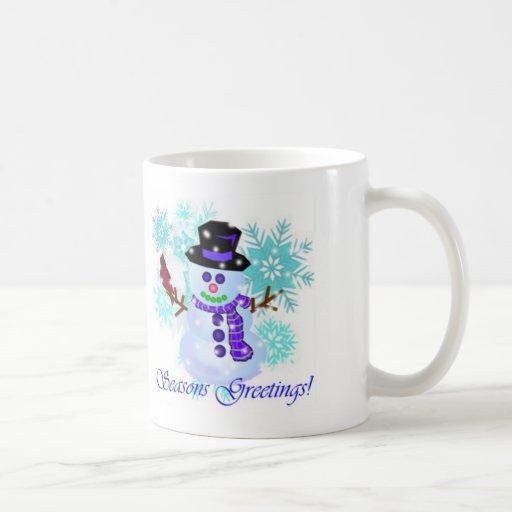 Snowman Holiday Mugs