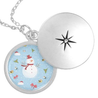 Snowman Holiday Necklaces