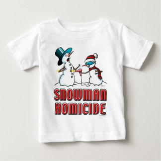 snowman homicide 2 t shirt
