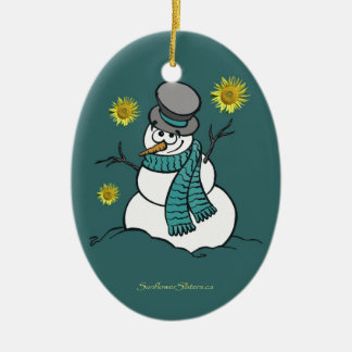 Snowman Hope Ornament