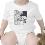 Snowman in a Snowstorm Shirts