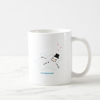 Snowman in Love Mugs