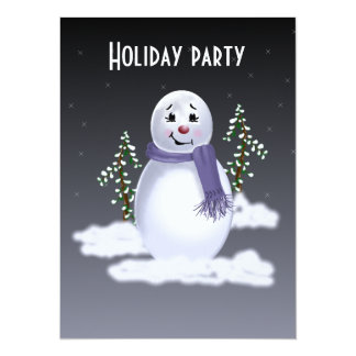 Snowman in the Clouds Invitations