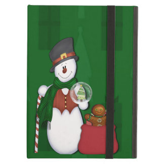 Snowman in Tophat Case For iPad Air