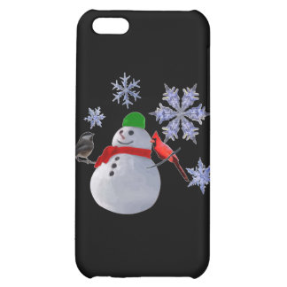 Snowman iPhone 5C Covers